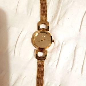 DKNY watch gold